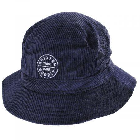 Brixton Hats Oath Corduroy Bucket Hat