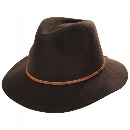 Wesley Brown Wool Felt Fedora Hat