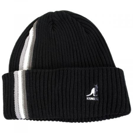 Color Bar Beanie Hat