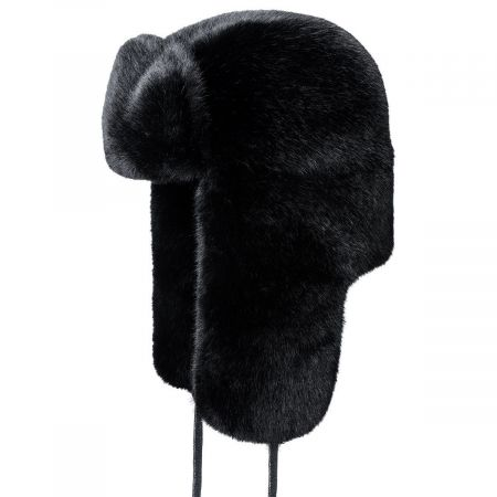 Kangol Faux Fur Trapper Hat