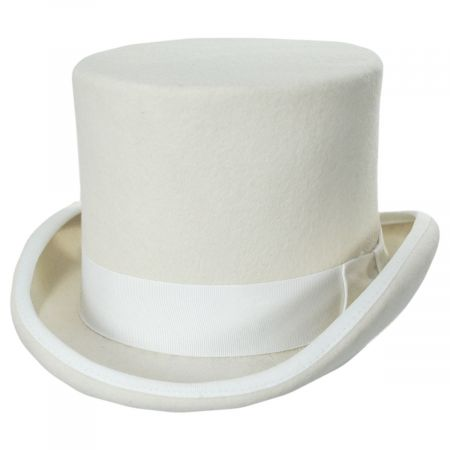Scala Chuachman Wool Felt Top Hat