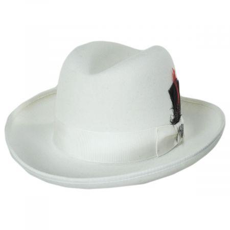 Fleetwood Wool Felt Homburg Hat