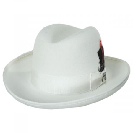 Dobbs Fleetwood Wool Felt Homburg Hat
