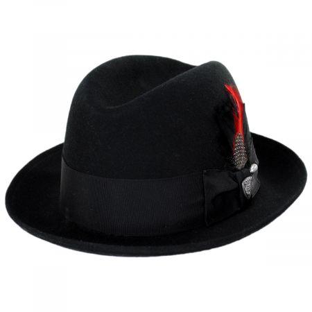 Dobbs Randall Wool Felt Fedora Hat