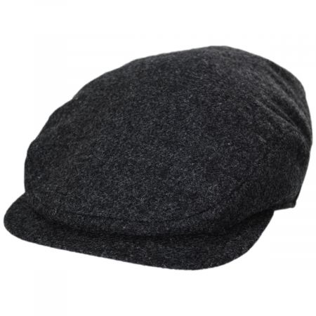 Stefeno Daxton Lambswool Earflap Ivy Cap