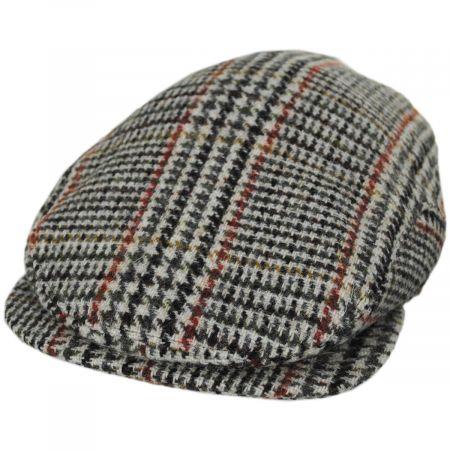Stefeno Xander Harris Tweed Wool Earflap Ivy Cap