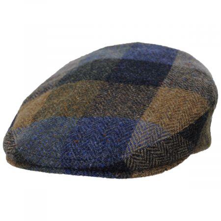 Donegal Squares Herringbone Tweed Wool Ivy Cap alternate view 13
