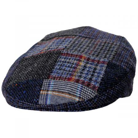 Donegal Patchwork Harris Tweed Wool Ivy Cap alternate view 9