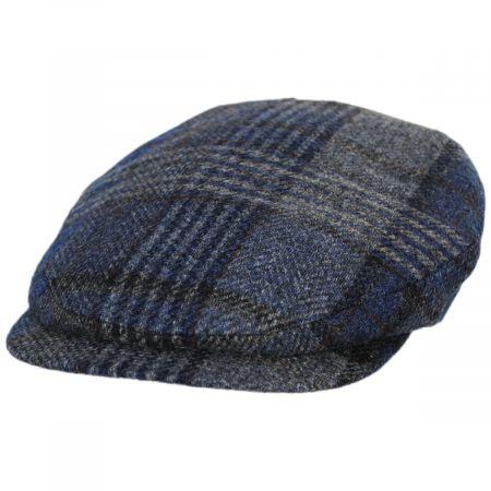 British Mix Plaid Wool Ivy Cap