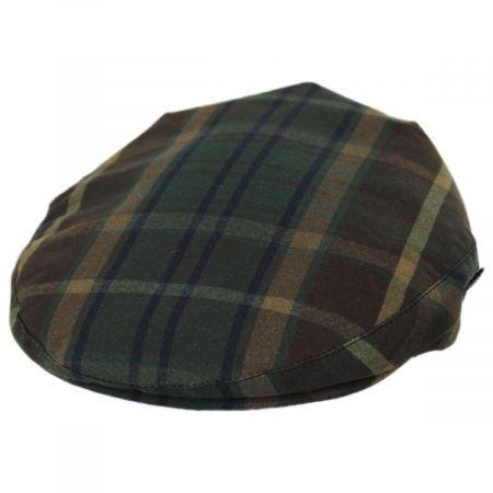 British Plaid Millerain Waxed Cotton Ivy Cap