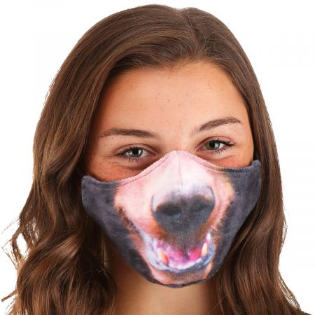 Bear Dye Sublimated Face Cover