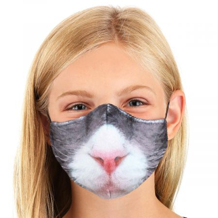 Cat Dye Sublimated Face Cover