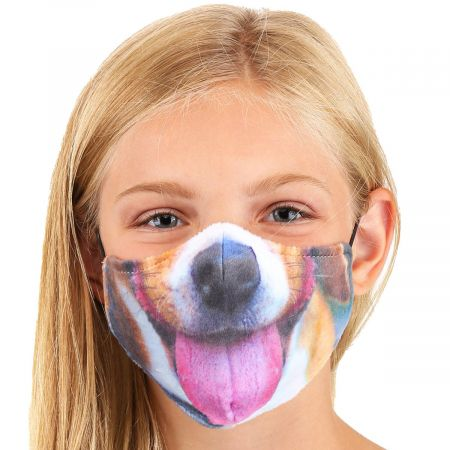 Dog Dye Sublimated Face Cover