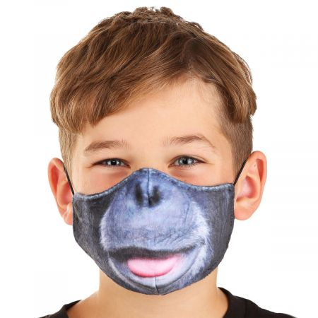 Elope Chimpanzee Dye Sublimated Face Cover