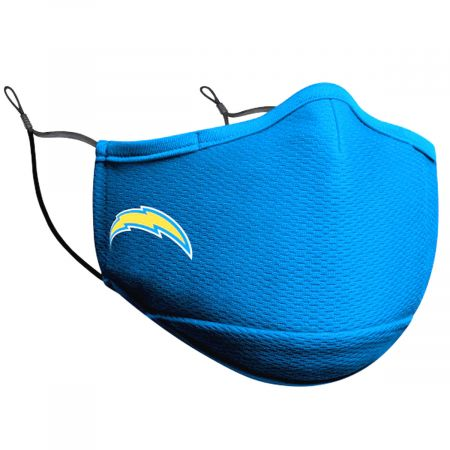 Chargers Team Color Face Cover and Filter