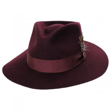Estate Wool Felt Fedora Hat