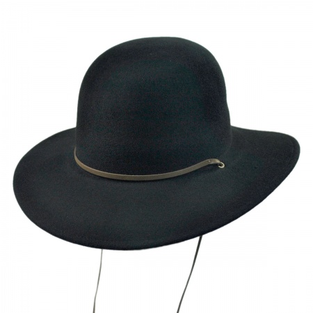 Black Felt Hat at Village Hat Shop f5d4232ebe61