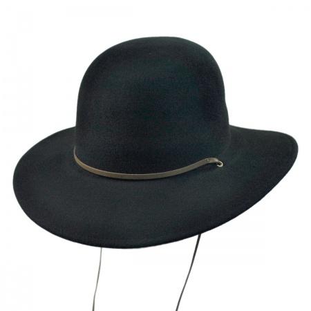 Tiller Packable Wool Felt Wide Brim Hat alternate view 12