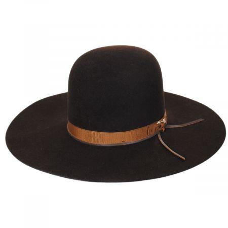 Stetson Smith Fur Felt Open Crown Western Hat