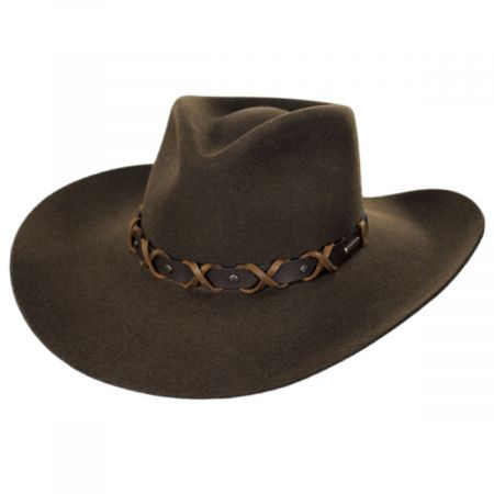 John Wayne Blackthorne Wool Felt Western Hat alternate view 17