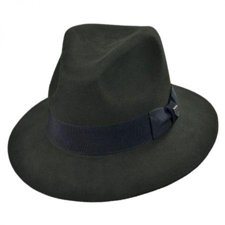 Brixton Hats Ranch Wool Felt Fedora Hat