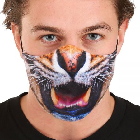 Elope Tiger Dye Sublimated Face Cover