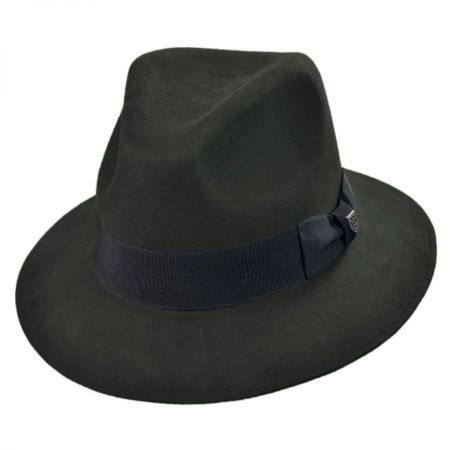 Brixton Hats Ranch Wool Felt Fedora Hat