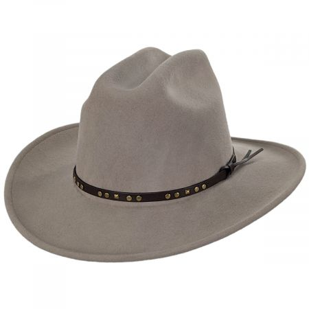 Bailey Chisolm Natural Crushable Wool Litefelt Cattlemen Western Hat