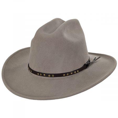 Chisolm Natural Crushable Wool Litefelt Cattlemen Western Hat