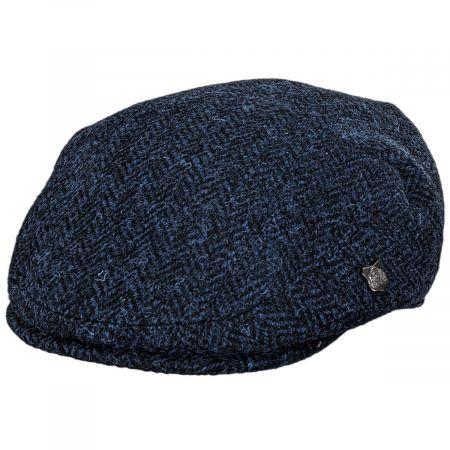 Failsworth Harris Tweed Herringbone Wool Ivy Cap