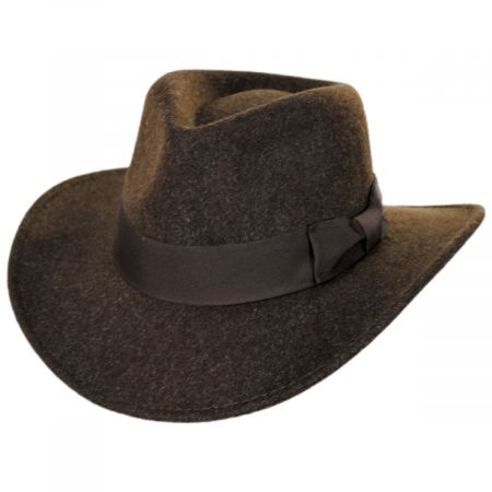 Indiana Jones Officially Licensed Timary Crushable ProvatoKnit Safari Fedora Hat