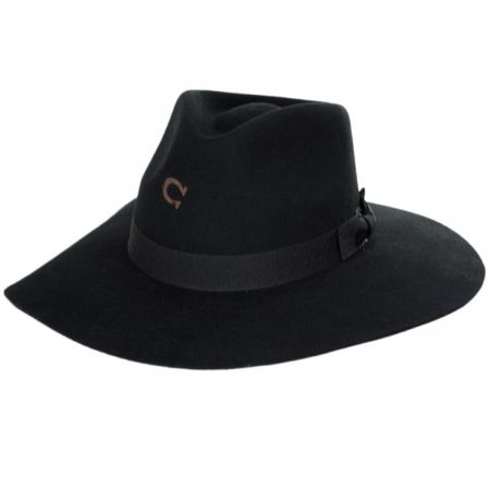 Highway Wide Brim Wool Felt Fedora Hat