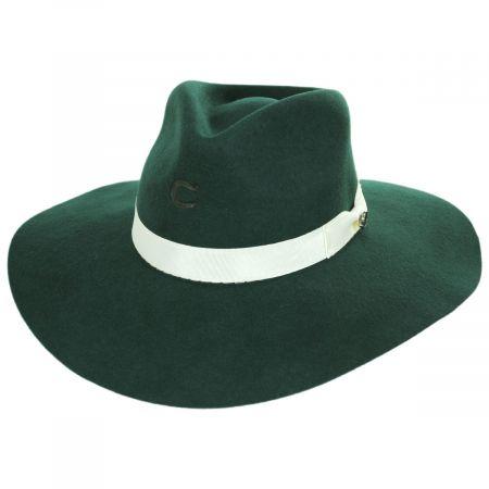 Highway Wide Brim Wool Felt Fedora Hat alternate view 14