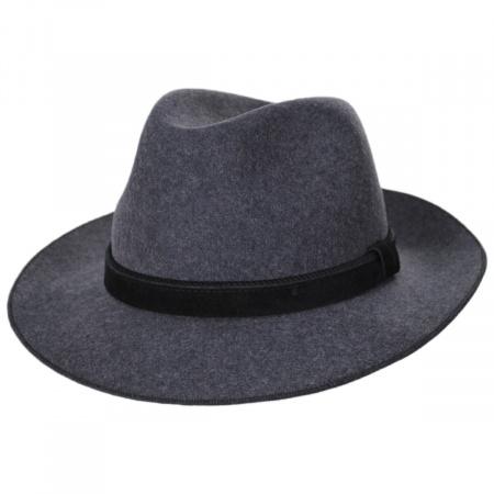 Stefeno Gabriel Crushable Wool Felt Fedora Hat