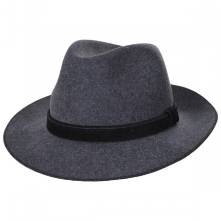 Gabriel Crushable Wool Felt Fedora Hat alternate view 11