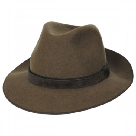 Gabriel Crushable Wool Felt Fedora Hat alternate view 6