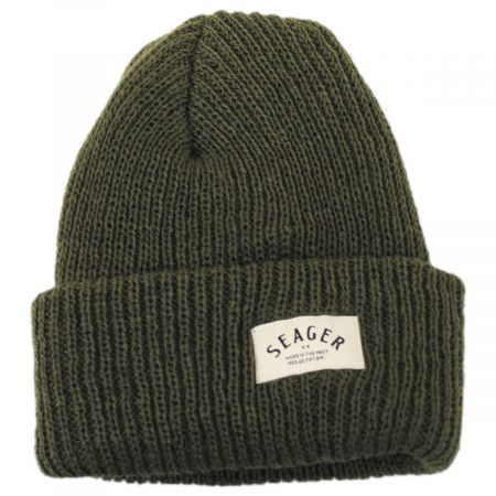 Seager Service Wool Beanie Hat