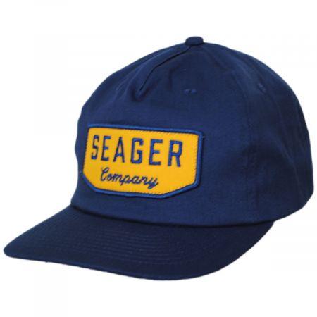 Seager Wilson Cotton Blend Snapback Baseball Cap