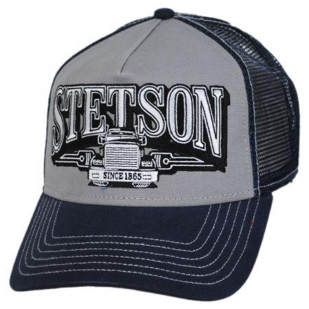 Stetson Big Rig Cotton Trucker Snapback Baseball Cap