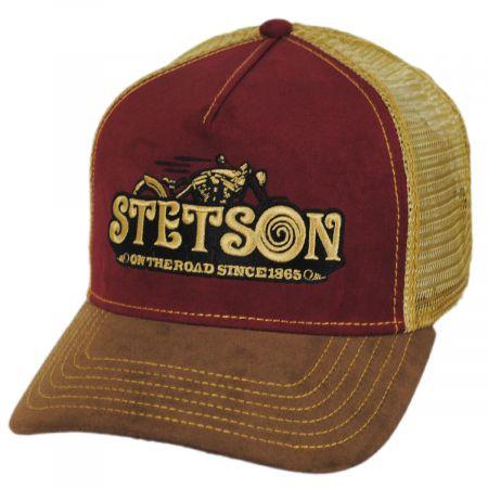 Stetson On The Road Cotton Trucker Snapback Baseball Cap