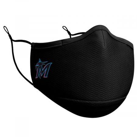 New Era Marlins Team Color Face Cover and Filter
