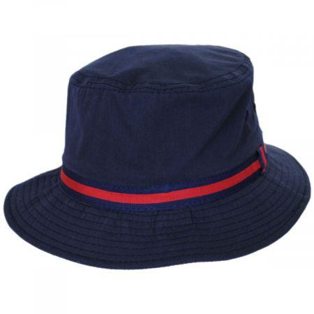Poplin Cotton Blend Rain Bucket Hat alternate view 5