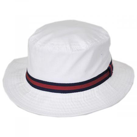 Poplin Cotton Blend Rain Bucket Hat alternate view 37