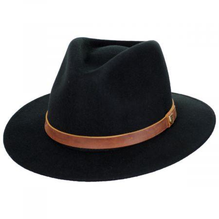 Fender Refugee Wool Felt Fedora Hat alternate view 7