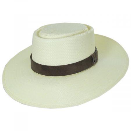 L'amour Buckaroo Toyo Straw Gambler Hat alternate view 7