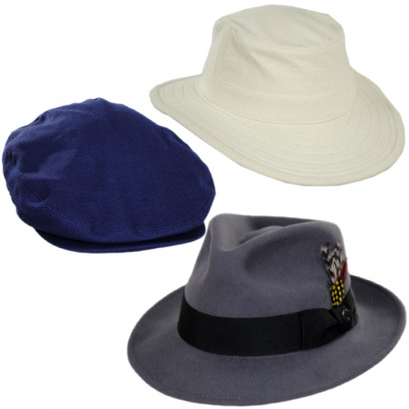 Village Hat Shop Men's Every Season Covered Pack