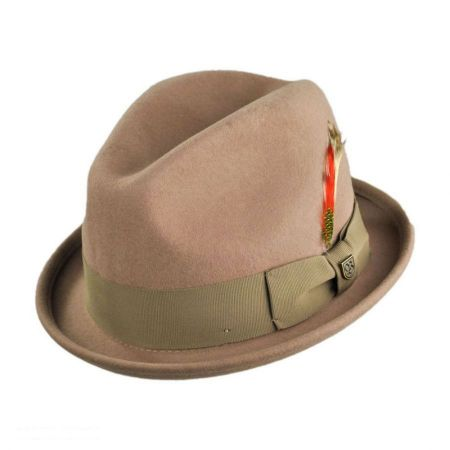 Brixton Hats - Gain Wool Felt Fedora Hat