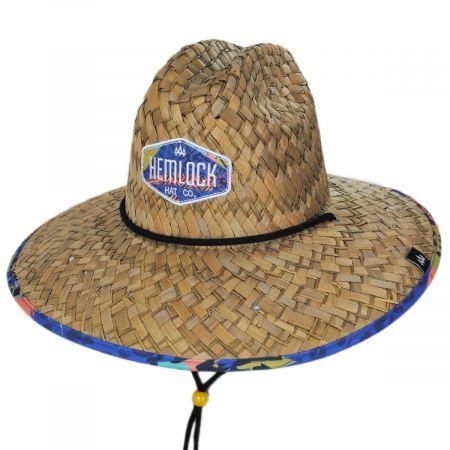 Hemlock Hat Co Wildcat Straw Lifeguard Hat