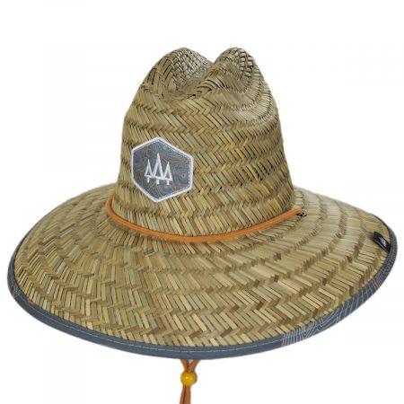 Hemlock Hat Co Nomad Straw Lifeguard Hat