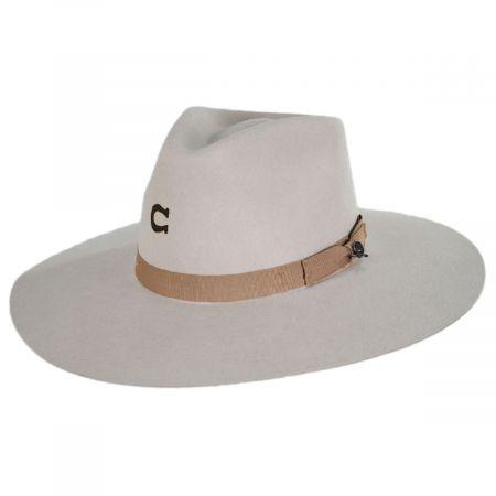 Highway Wide Brim Wool Felt Fedora Hat alternate view 6